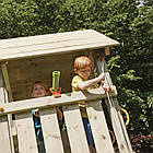 Детская игровая площадка KBT Blue Rabbit KIOSK домик с горкой, фото 5