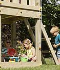 Детская игровая площадка KBT Blue Rabbit KIOSK домик с горкой, фото 6