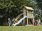 Детская игровая площадка KBT Blue Rabbit KIOSK + качели SWING для детей, фото 4