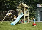 Детская игровая площадка KBT Blue Rabbit KIOSK + качели SWING для детей, фото 5