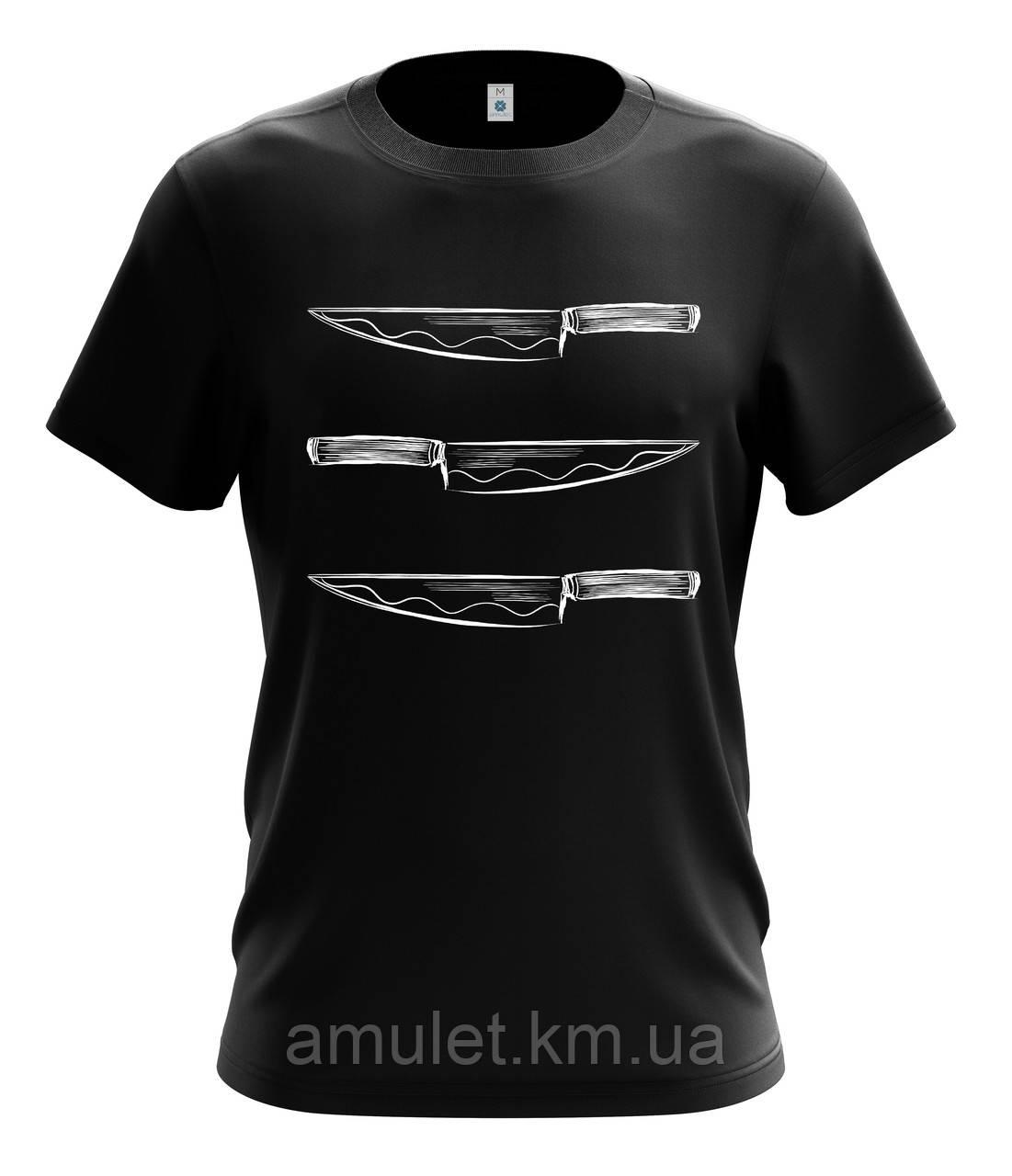 """Военные футболки  """"Нож"""""""