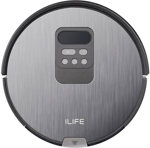 Пылесос-робот ILIFE V80 Grey