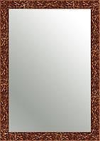Зеркало SvitArt 48х68 см в багете 4312D-2100 Медь со структурой