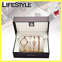 Подарочный набор с часами от ANNE KLEIN + Наушники в подарок