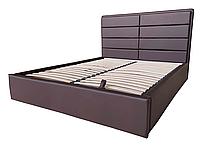 """Кровать """"Sofi"""" 160*200 шоколад, изголовье - трансформер TM Viorina Deko"""