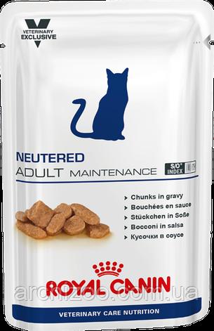 Royal Canin Neutered Adult Maintenance 100г*12шт - паучи для кастрированных / стерилизованных котов и кошек, фото 2