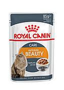 Royal Canin Intense Beauty в соусе  85г*12шт-паучи для поддержания красоты  шерсти кошек