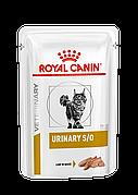 Royal Canin Urinary S/O CAT 85 гр*12шт паучи с курицей-диета при заболевании мочевыделительной системы у кошек