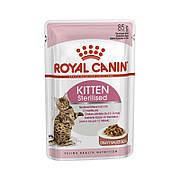 Royal Canin KITTEN STERILISED в соусе 85 г для стерилизованных котят от 6 до 12 мес