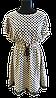 Сукня молочна в горошок 1128