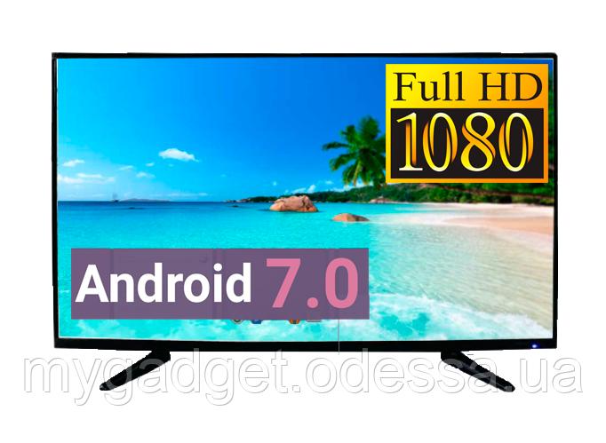 "Телевизор LED TV 42"" SmartTV FullHD Android 7.0 HDMI USB VGA"