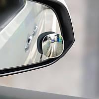 Дополнительные автомобильные зеркала заднего вида Hoco PH18 Overview для мертвых зон Black 2 шт.