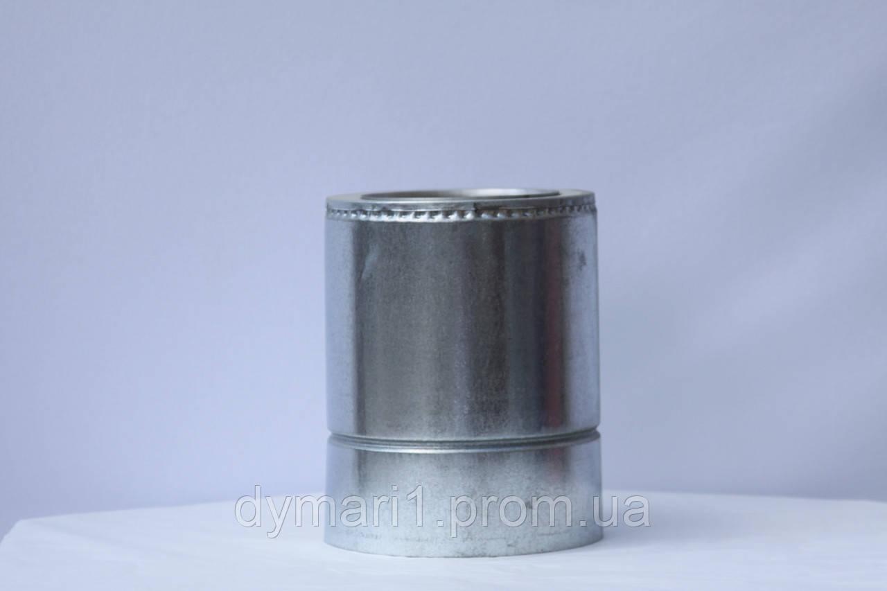 Труба для дымохода 0.25 м нерж./оц. ф120/180