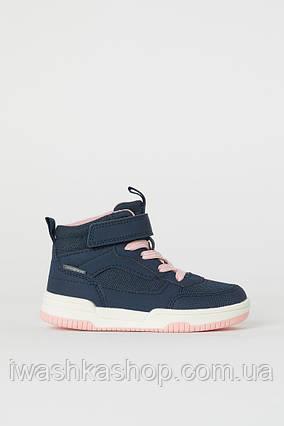 Демисезонные водонепроницаемые кроссовки хайтопы waterproof на девочку 33 р., H&M
