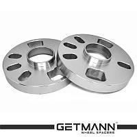 Автомобильное расширительное кольцо (Spacer) GETMANN H=20 мм от PCD4*98 до 5*120 DIA54.1 до 73.1 (Литая)