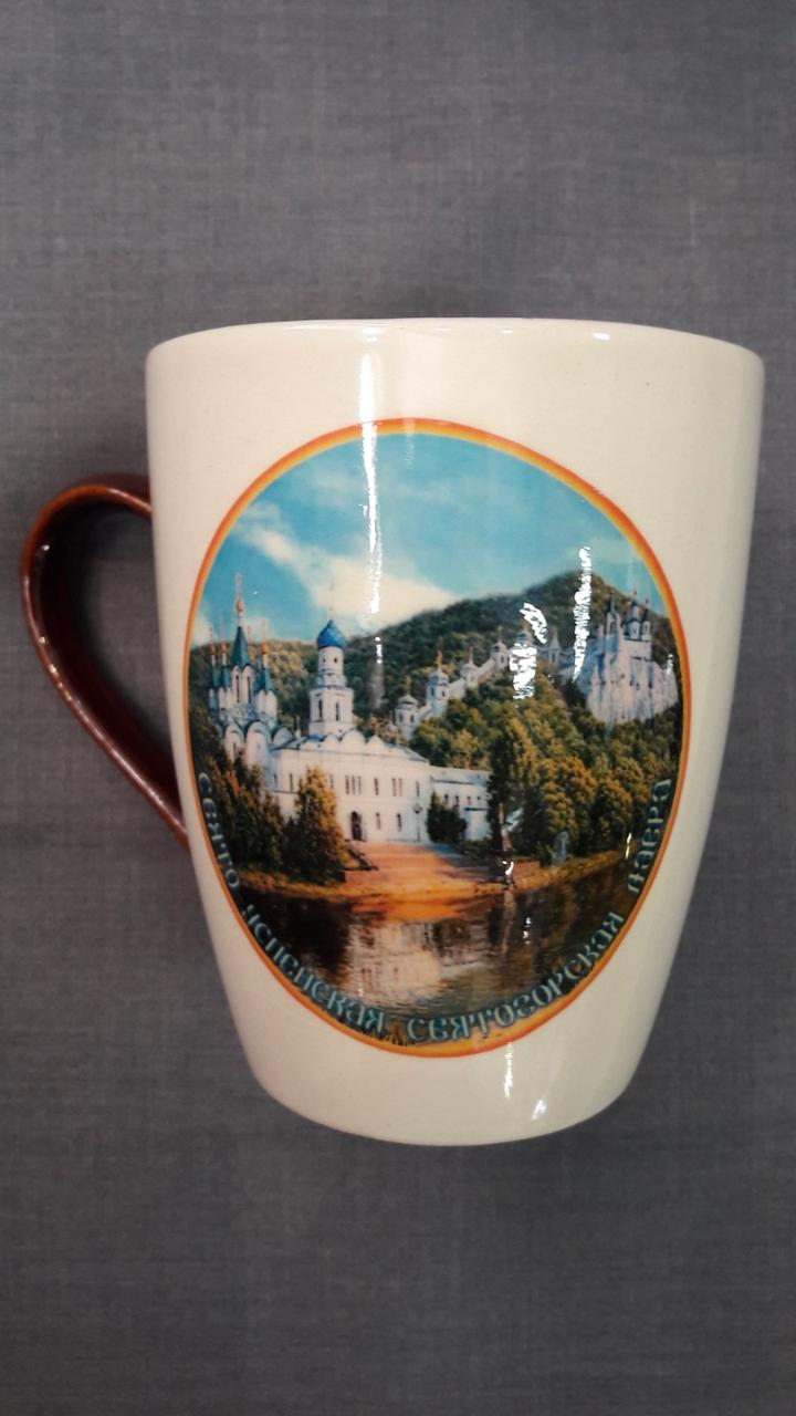 Чашка с видом Лавры №09