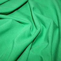 Стрейч кулир Зеленая трава (светлее) - 95% хлопок и 5% эластана