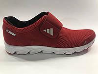 Кроссовки мужские Adidas лето дышащая сетка и замш на липучке 39-45 размер