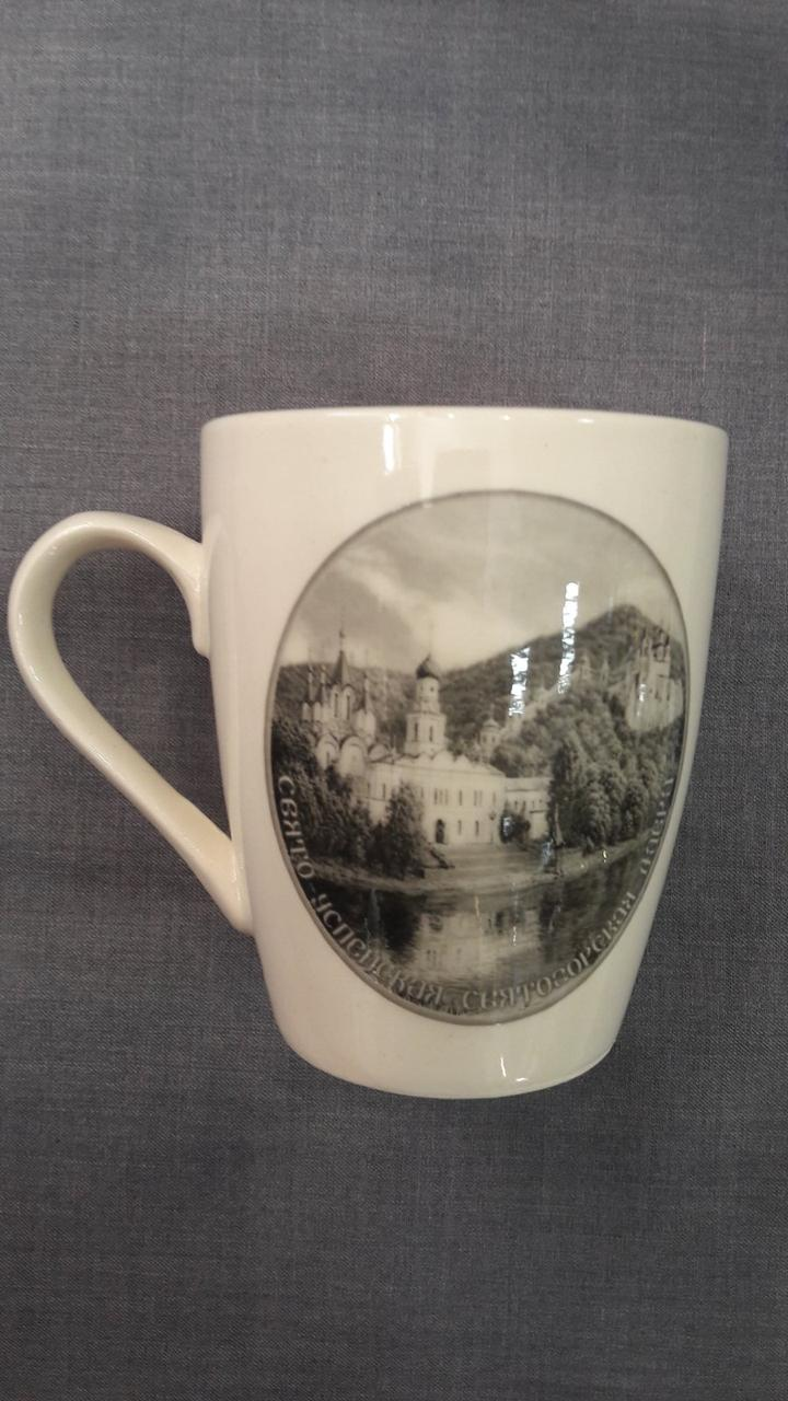 Чашка с видом Лавры №10