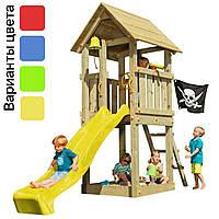 Детская игровая площадка KBT Blue Rabbit KIOSK домик с горкой (дитячий ігровий майданчик, будиночок з гіркою), фото 1