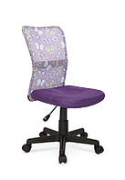 Кресло компьютерное DINGO фиолетовый (Halmar)