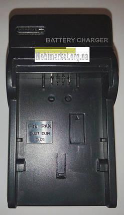 Мережевий зарядний пристрій для Panasonic CGA-DU07/CGA-DU14/CGA-DU21 (Digital), фото 2