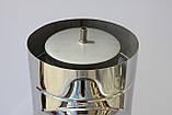 Тройник для дымохода 87* нерж./нерж. ф130/200, фото 3
