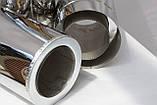 Труба для дымохода 0.25 м нерж./нерж. ф130/200, фото 2