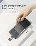 Чохол-книжка ROCK Dr.V Series Black для Samsung Galaxy S9 (G960)., фото 4