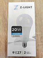Светодиодная Led лампа 20W 6400K E27 Z-Light