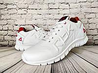Мужские  кожаные кроссовки Reebok ( реплика), фото 1