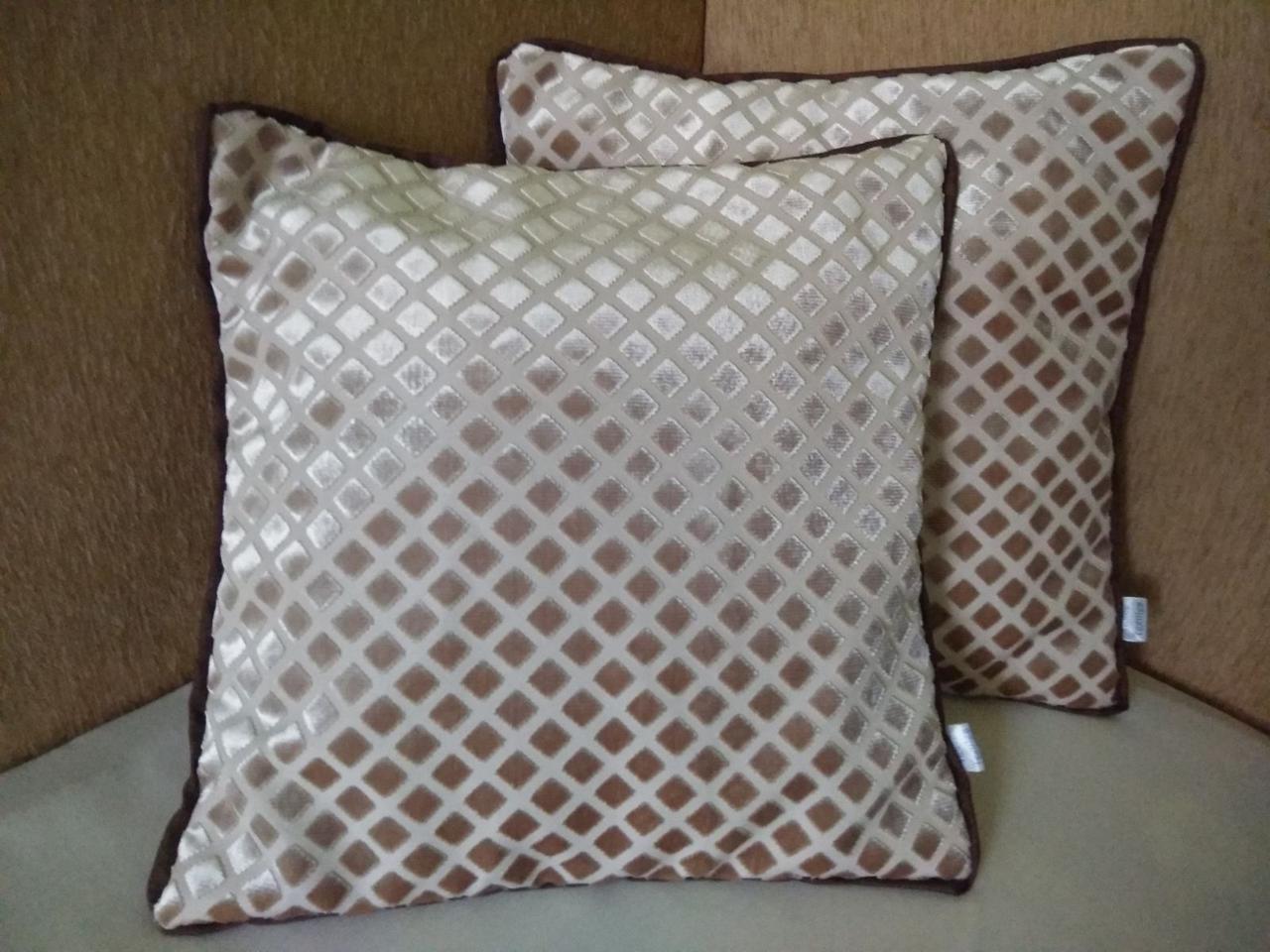 Наволочки квадратні для декоративної подушки 40*40. Комплект 2 шт