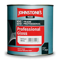 Johnstone's Professional Gloss 5л Профессиональная глянцевая краска Джонстоун Профешенал Глос
