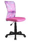 Кресло компьютерное DINGO розовый (Halmar)