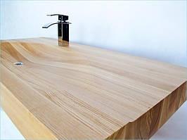 Раковина деревянная из Лиственницы Сибирской