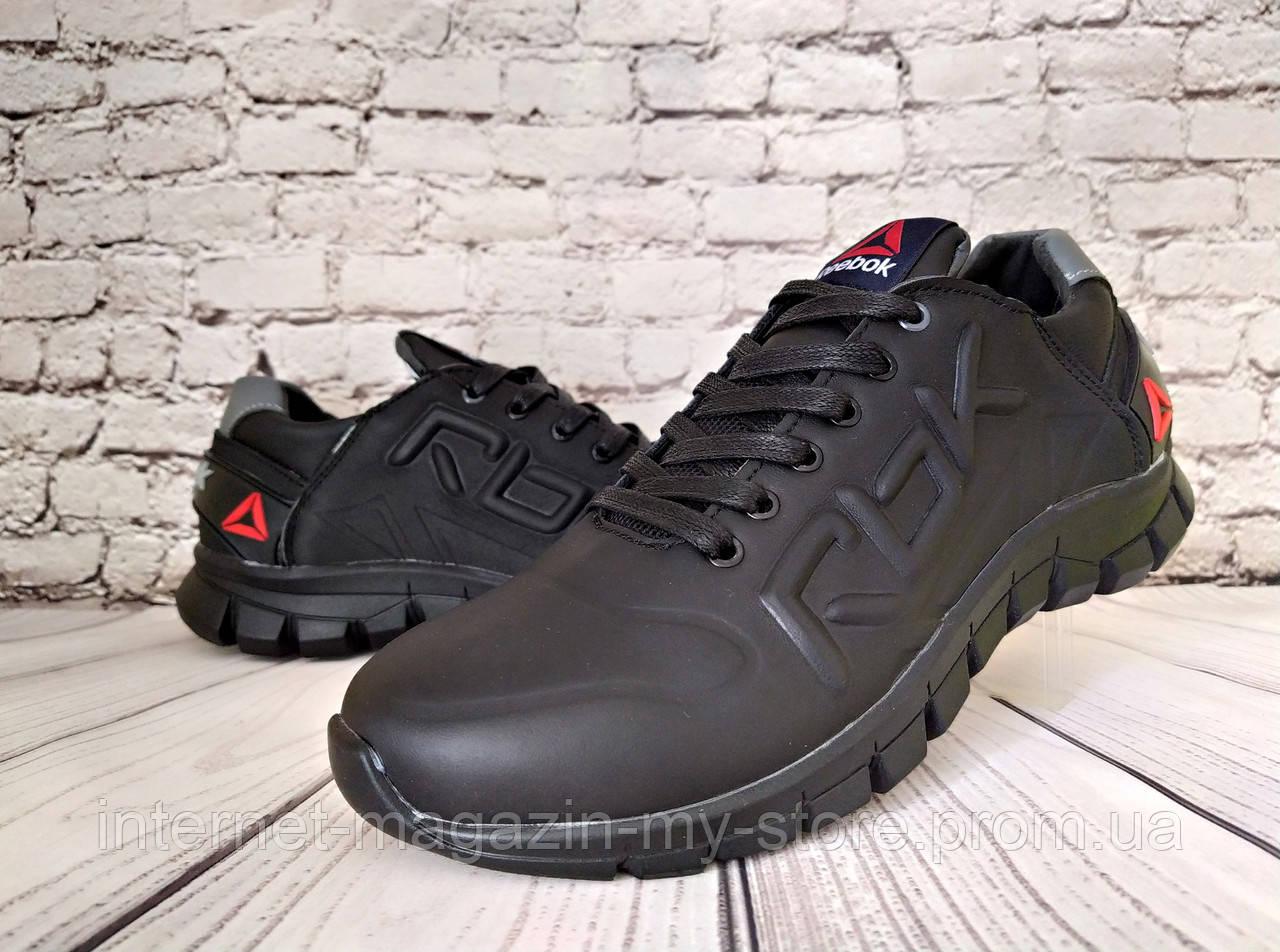 Мужские  кожаные кроссовки Reebok ( реплика)