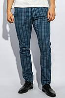 Брюки 446F002 цвет Сизо-голубой
