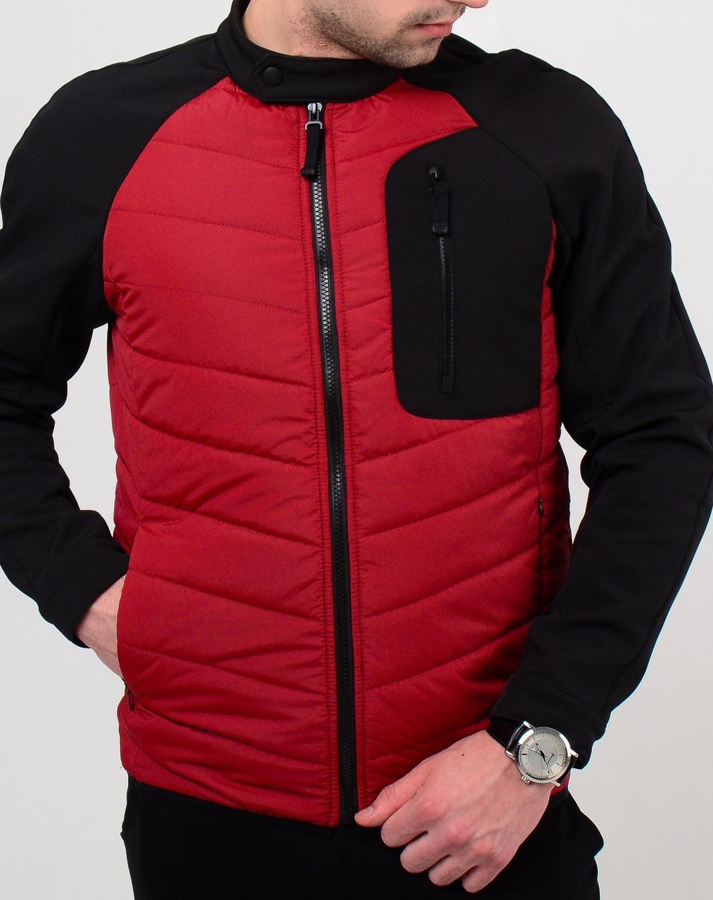 Весенняя мужская куртка Юнайтед красная О
