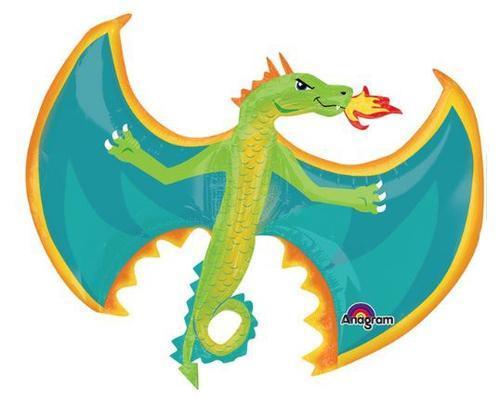"A  31"" Flying Fire Breathing Dragon Летающий Огненый дракон, в уп."