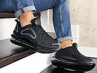 Мужские кроссовки Nike Air Max 720 (Найк Аир Макс 720), черные, код SD-8987