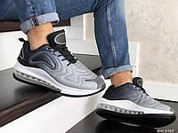Мужские кроссовки Nike Air Max 720 (Найк Аир Макс 720), серые, код SD-8985