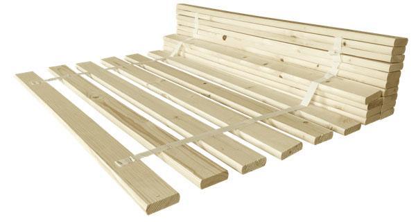 Ламель №4 для кровати Мебель Сервис 1600 (2*792)