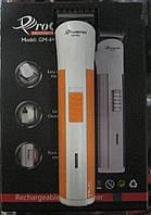 Машинка-триммер для стрижки волос Gemei GM-646 (оранжевая)