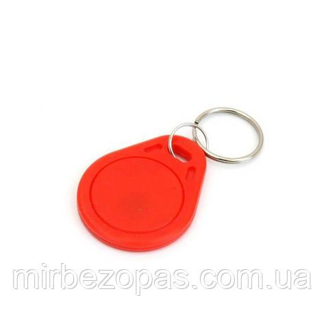 Брелок RFID KEYFOB EM RW Red, фото 2