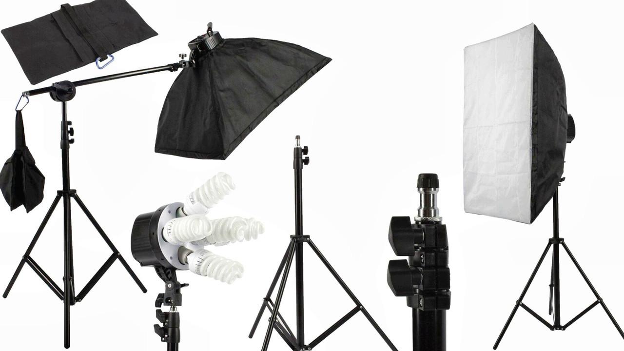 Набор постоянного студийного света Tricolor Visico - FL307 MAX (комплект)