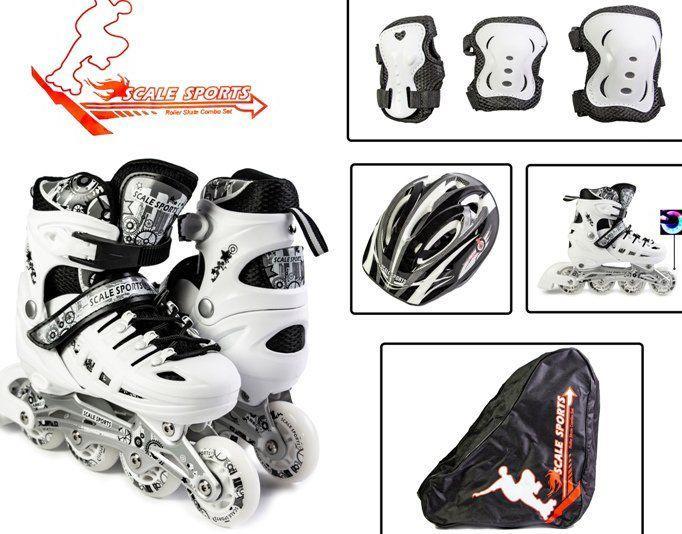 Комплект детских Роликов Scale Sport 29-33, 34-37 р - Детские раздвижные ролики