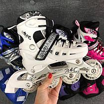 Комплект детских Роликов Scale Sport 29-33, 34-37 р - Детские раздвижные ролики, фото 2
