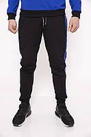 Спорт штаны мужские 119R039(24) цвет Черно-синий