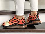 Кроссовки женские  Nike Air Max 720 оранжевые, фото 3