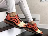 Кроссовки женские  Nike Air Max 720 оранжевые, фото 4